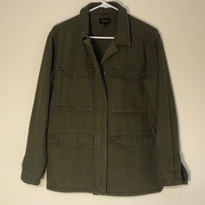 Topshop Army Green Utility Jacket